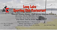 Long Lake Sporting Club, St. Agatha, Maine