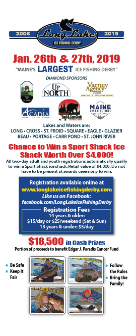 2017 Long Lake Ice Fishiing Derby, St. Agatha, Maine