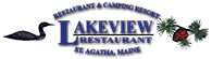 Lakeview Restaurant, St. Agatha, Maine