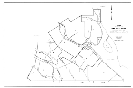 Town of St. Agatha Tax Maps